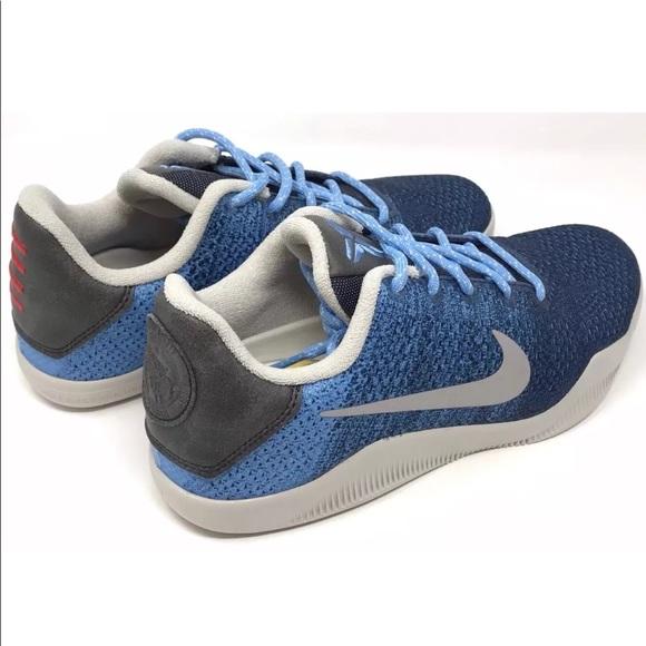 e53c444ff4de Nike Kobe 11 XI youth basketball shoes brave blue